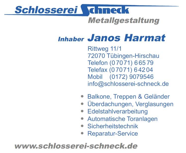 Schlosserei Scheck