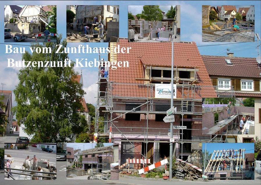 Zunfthausbau-Collage